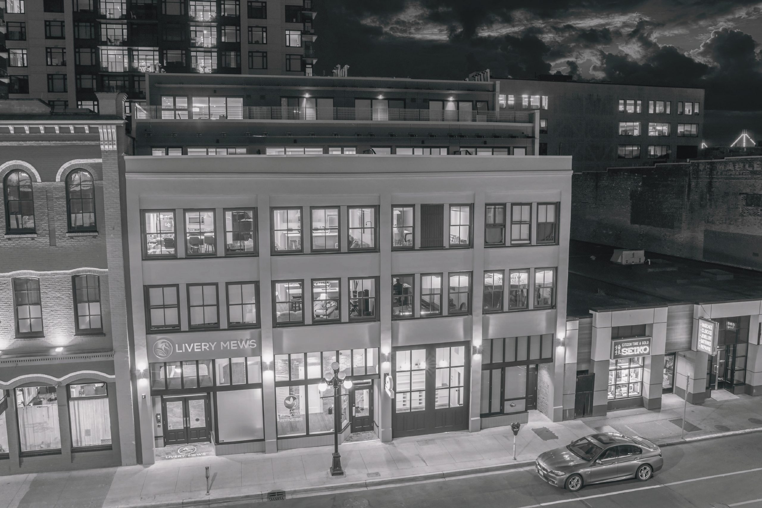 Livery Mews – 727 Johnson Street