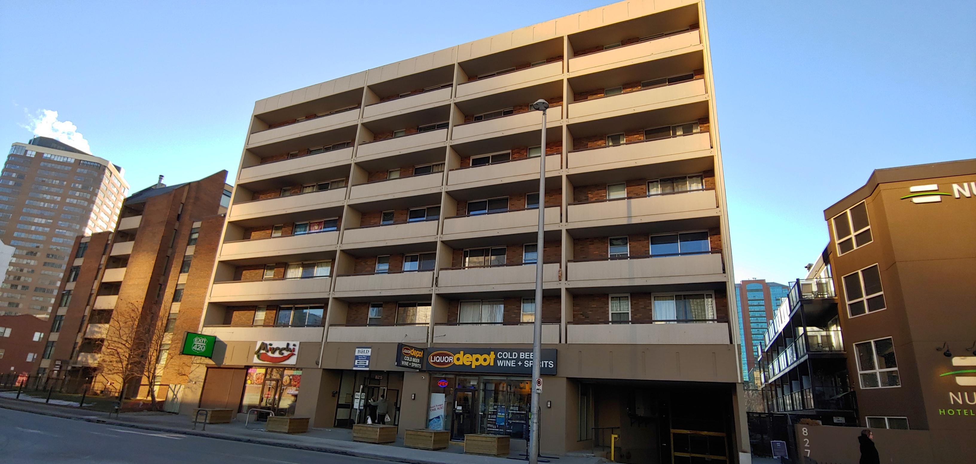 Sutton Place – 825 12 Ave SW